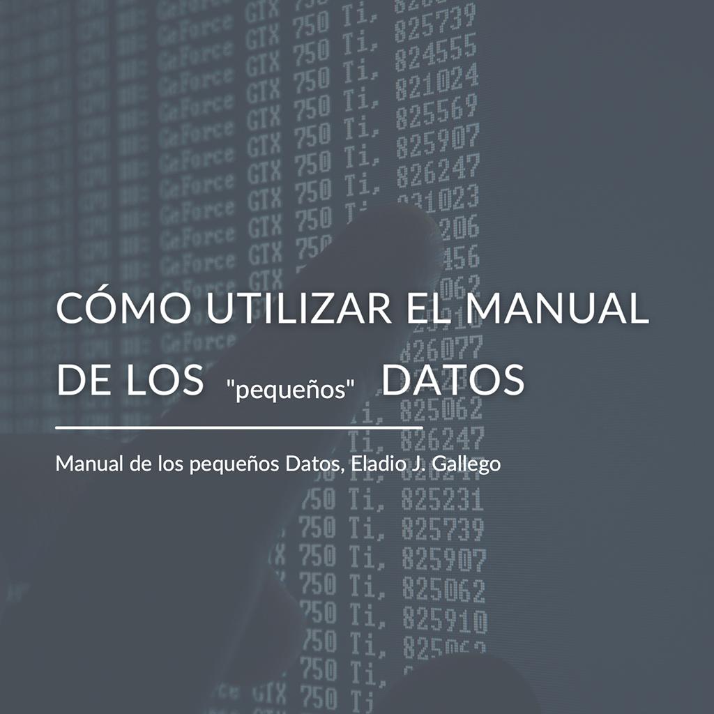 manual pequeños datos